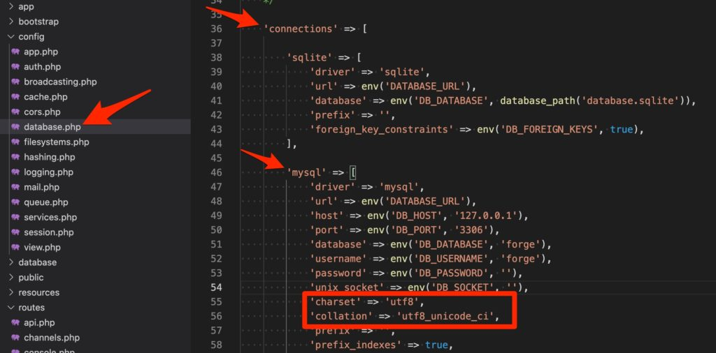 DB(MySQL)の文字コード